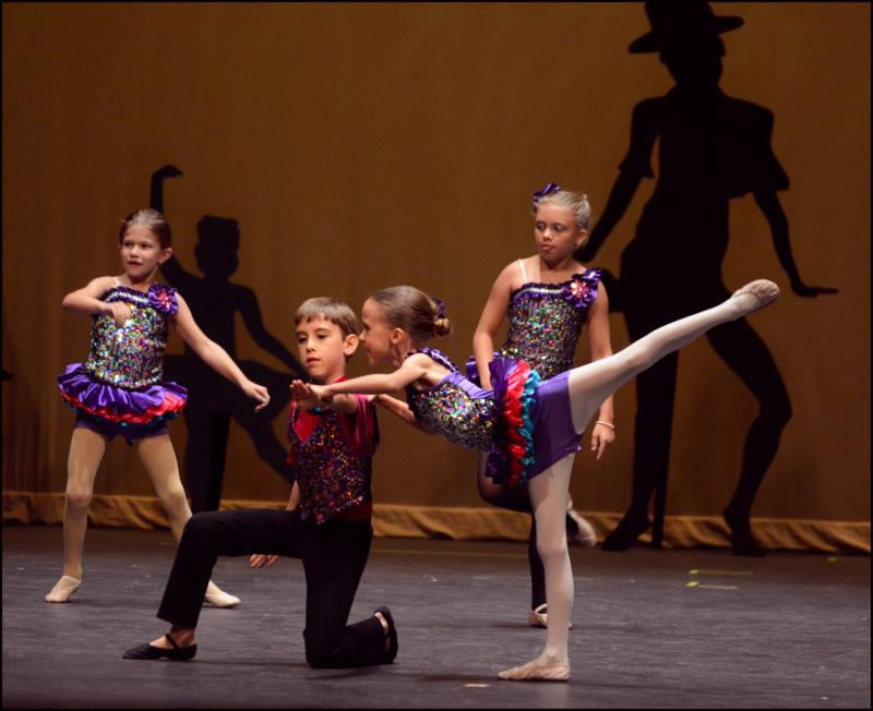 Girls & Boys enjoy performing dance partnering techniques, in Wilmington NC.