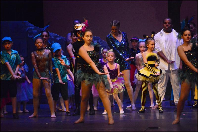 Recreational Ballet, Hip Hop, & Dance students perform in Wilmington NC