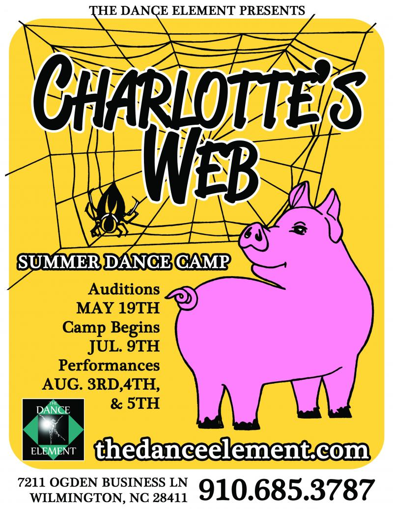 Charlotte's Web was created by The dance Element's Director, Ashley Barnes