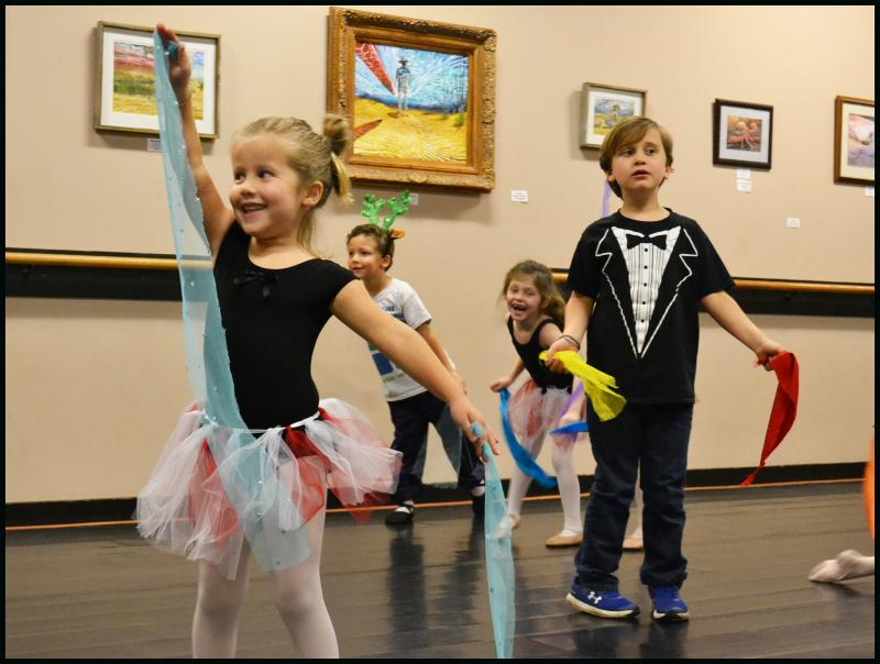 Girls & Boys in Wilmington NC enjoy learning in Ballet, Hip Hop, & Dance Classes