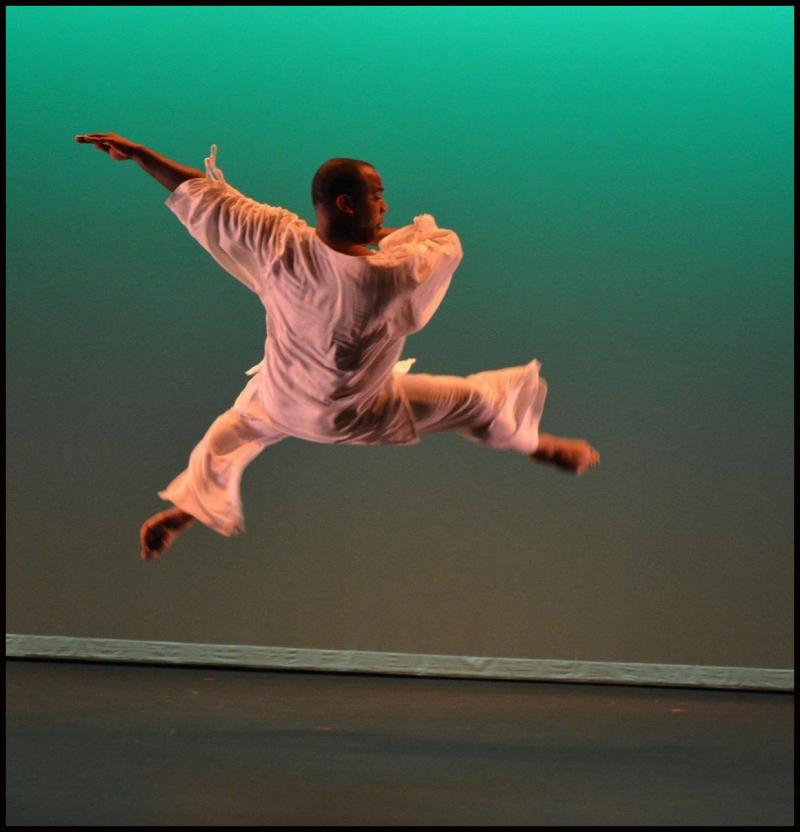 Qaadir Hicks teaches Boys' Dance Classes at The Dance Element in Wilmington NC