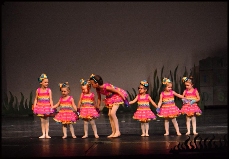 Preschool ballet students perform in two annual dance showcases in Wilmington NC