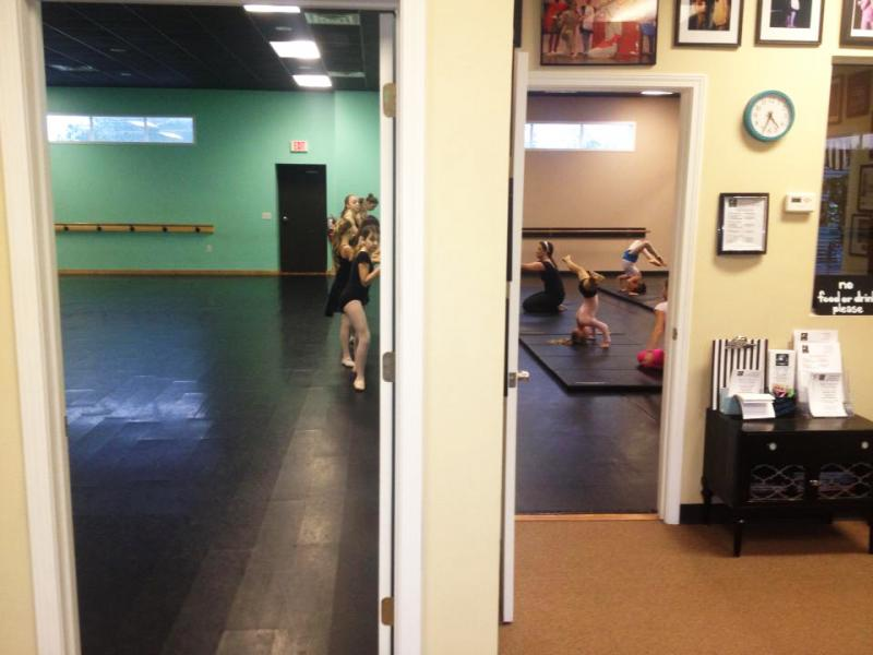 Dance classes for children and adults are at The Dance Element, in Wilmington NC