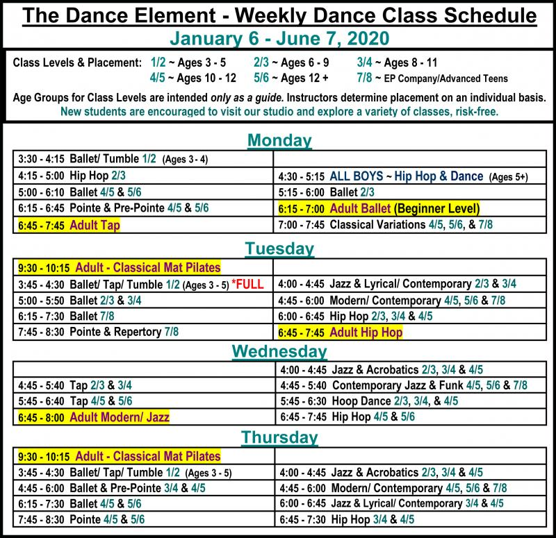 Dance & Fitness Classes for Adults & Seniors in Wilmington NC