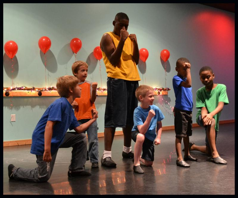 Manny Lloyd founded a dance class for boys at The Dance Element in Wilmington NC