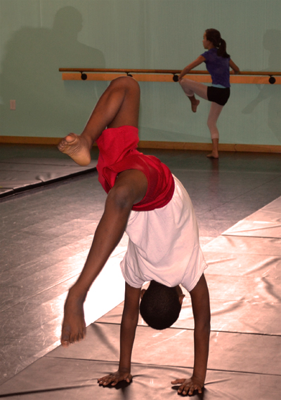Acrobatics Classes for kids in Wilmington NC at The Dance Element