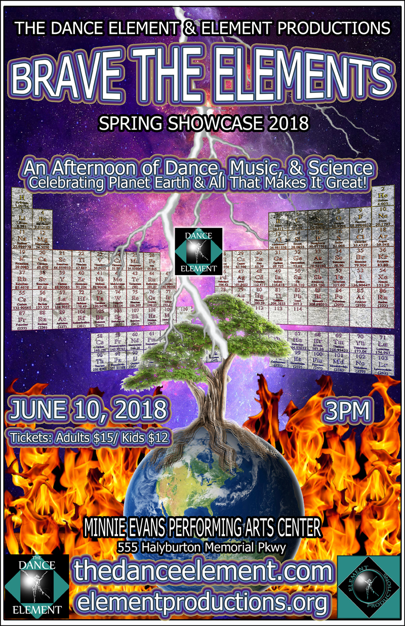 Best Local performing arts event in Wilmington NC, Sunday June 10, 2018.