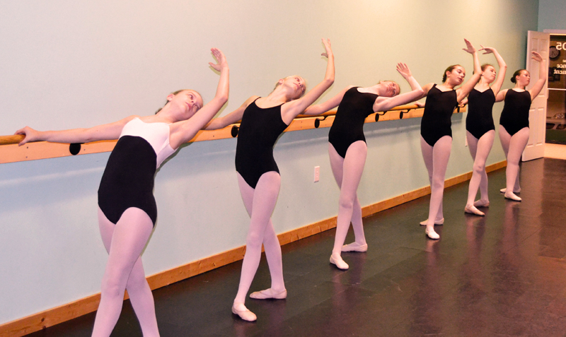 Ballet students at Wilmington NC Ballet School adhere to a Dress Code for Class.