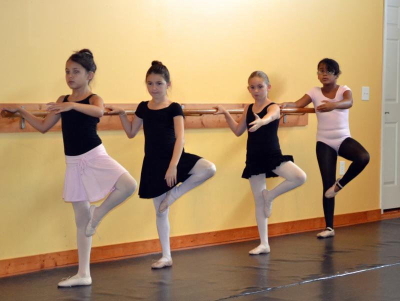Clasical Ballet students receive the best training available in Wilmington NC.