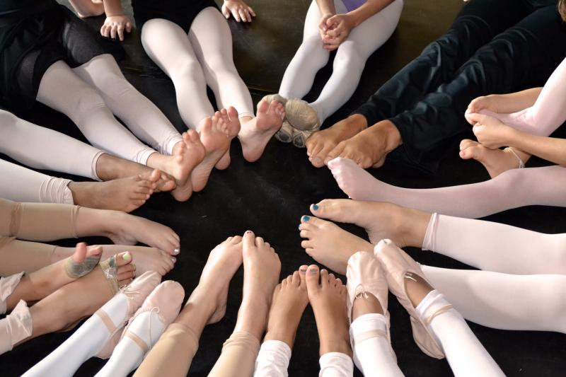 Adult Dance students in Wilmington NC enjoy weekly adult tap, ballet, & Hip Hop!
