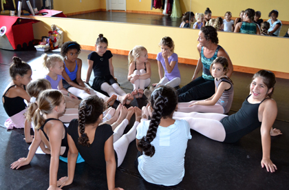 Home School dance classes are offered at The Dance Element of Wilmington NC