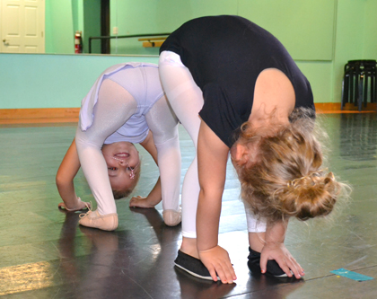 Wilmington NC's best ballet & dance classes for toddlers at The Dance Element