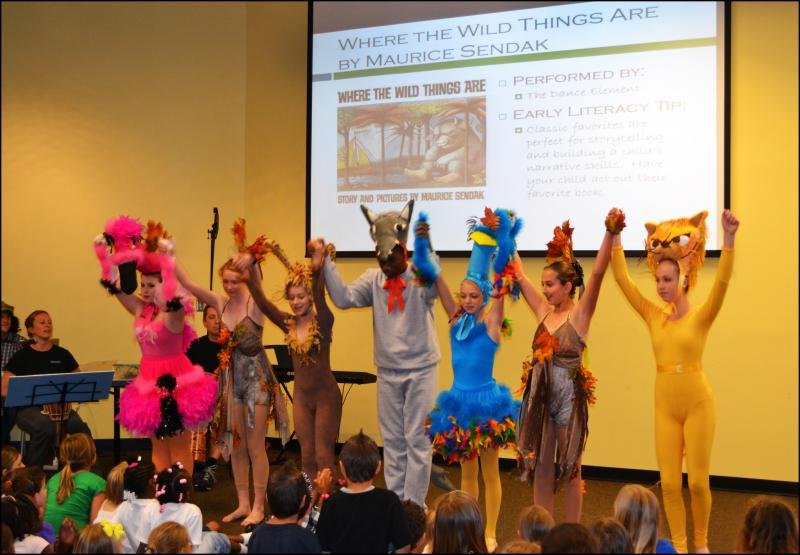 Dance Element students frequently perform at Wilmington NC community events