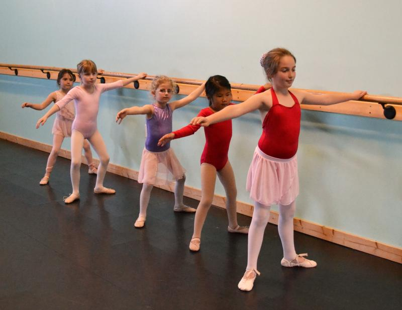 Children enjoying our recreational ballet and dance classes in Wilmington NC.