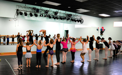 Guest artists and master teachers share dance knowledge with Wilmington dancers.