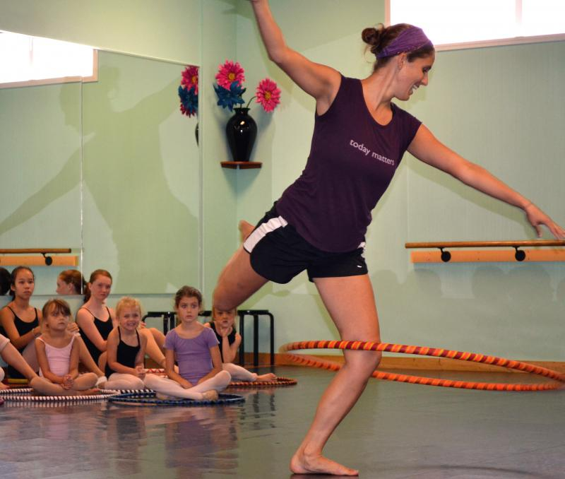 Sarah Hill is one of the best dance teachers in Wilmington NC.