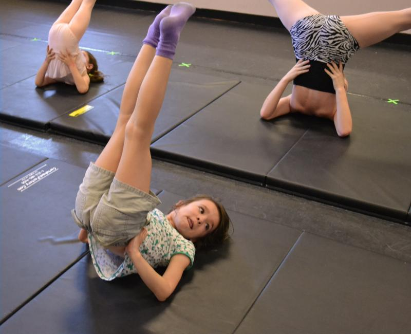 Wilmington NC children love kids' yoga classes at The Dance Element studio!