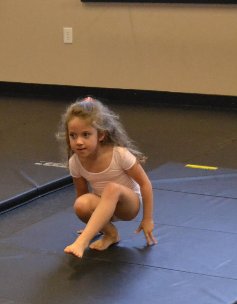Kids participating in Acrobatics classes at our dance studio in Wilmington NC