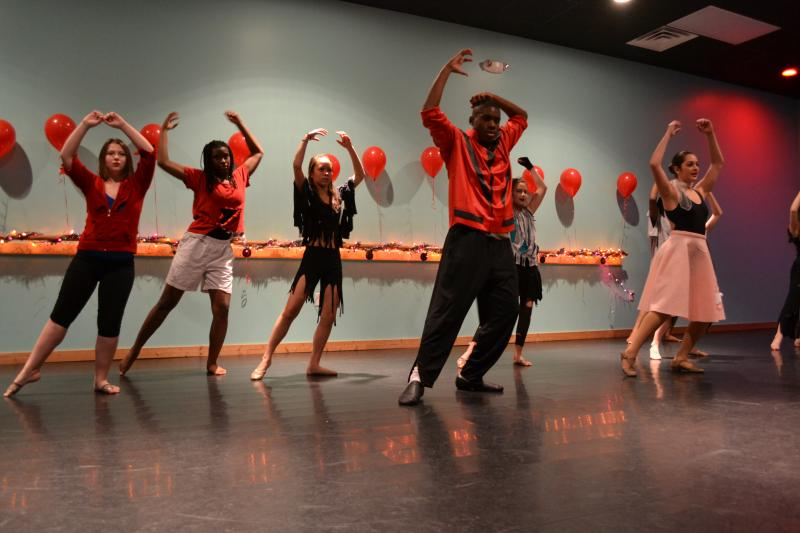 The Dance Element offers dance classes for teenage boys and girls in Wilmington.