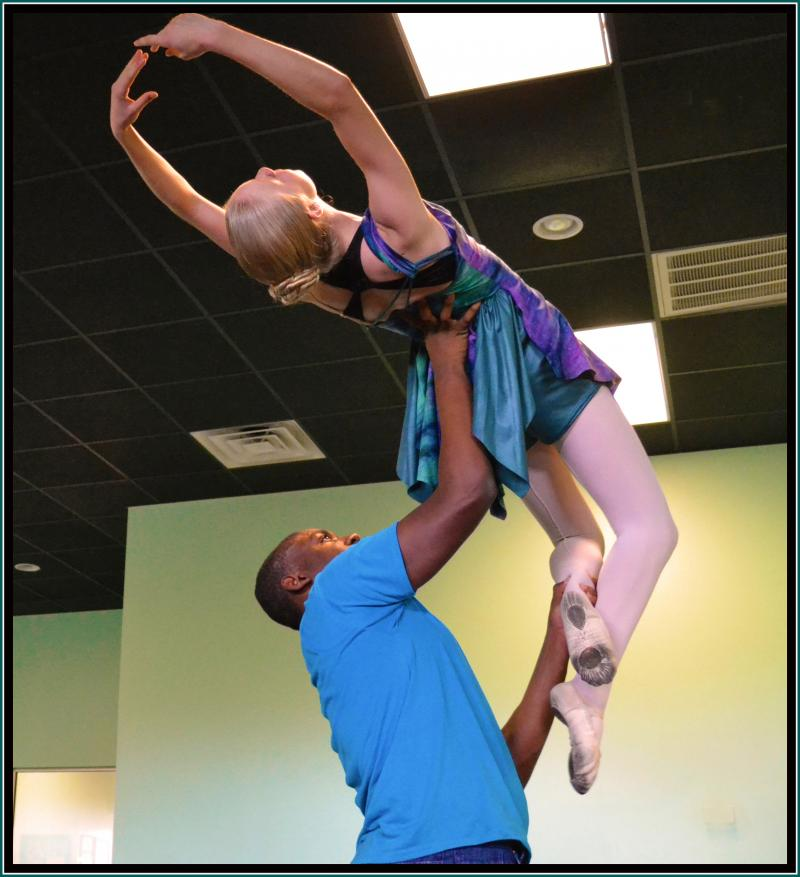 Manny Lloyd teaches Dance Classes for Boys at The Dance Element in Wilmington NC