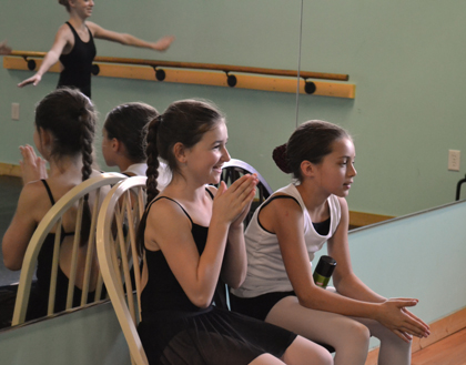Dance students in Wilmington NC enjoy learning to dance in a positive atmosphere