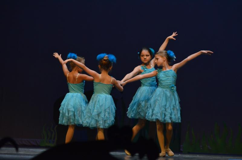 Boys and girls ages 7 - 11 enjoy dance classes and performances in Wilmington N