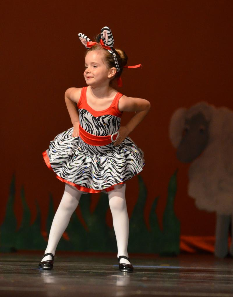 Tap classes for preschoolers are offered at The Dance Element in Wilmington NC.