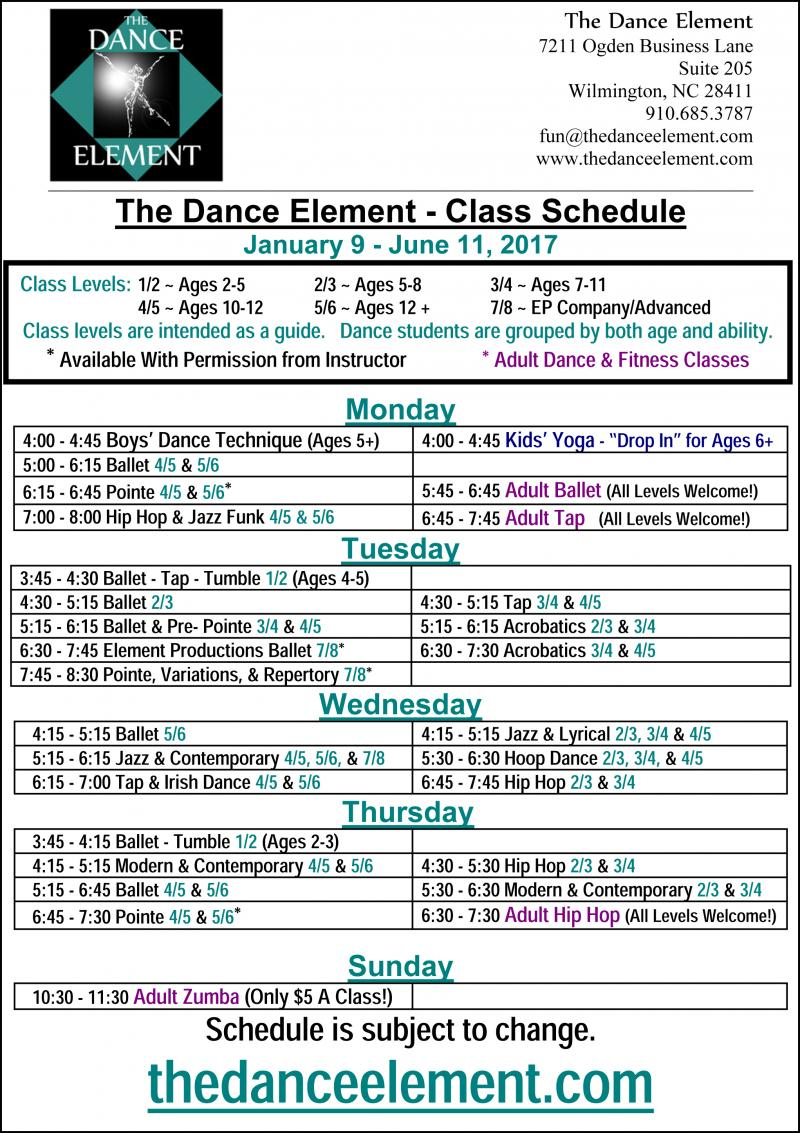 Dance Classes & dance Lessons for Kids & Adults are at The Dance Element studio