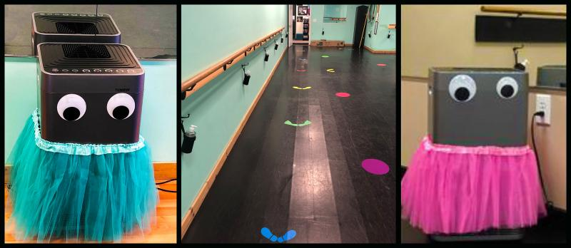 The Dance Element dance studio has created a healthy environment for students