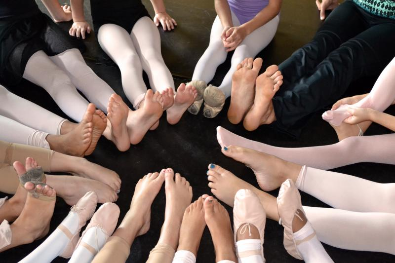 Wilmington Kids ahould join a Yoga Class on Mondays at The Dance Element studio