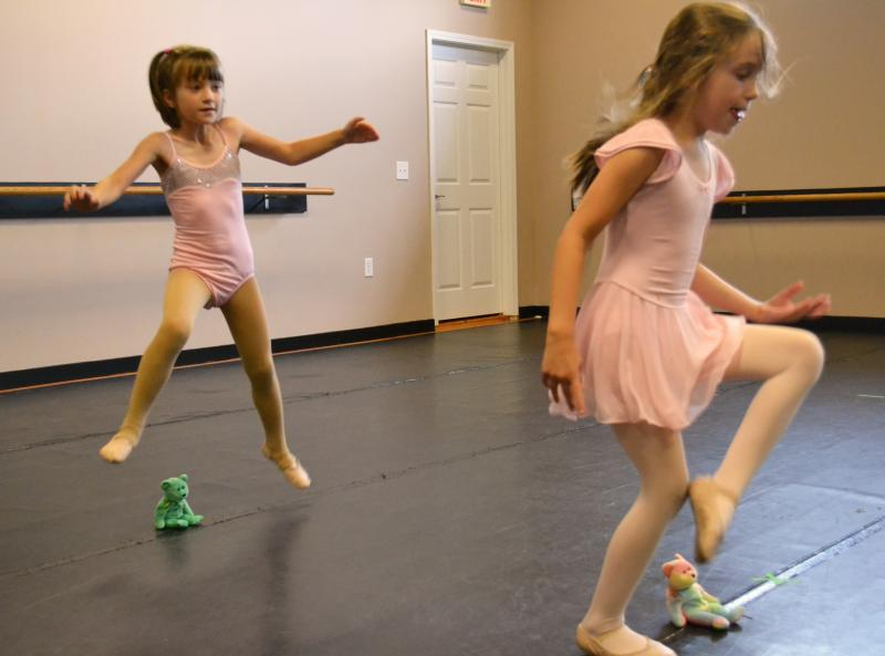 Creative games help preschool dancers learn important concepts.