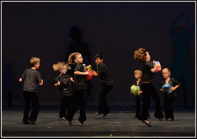 Boys have fun learning from male dance teachers at The Dance Element studio