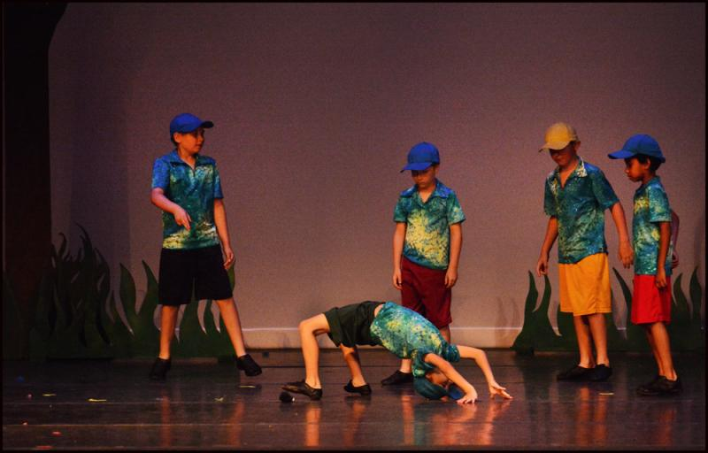 Boy dance students enjoy classes and performance opportunities in Wilmington NC