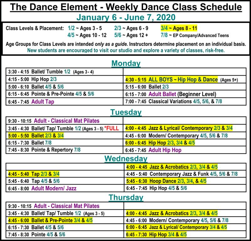Ballet, Hip Hop, & Dance Lessons for Children near me in Wilmington NC.