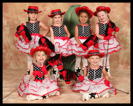 3 year old students love learning ballet & dance at The Dance Element studio