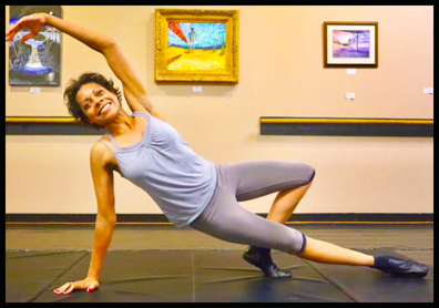 Chantay Allen teaches Pilates Classes for Adults & Seniors in Wilmington NC.