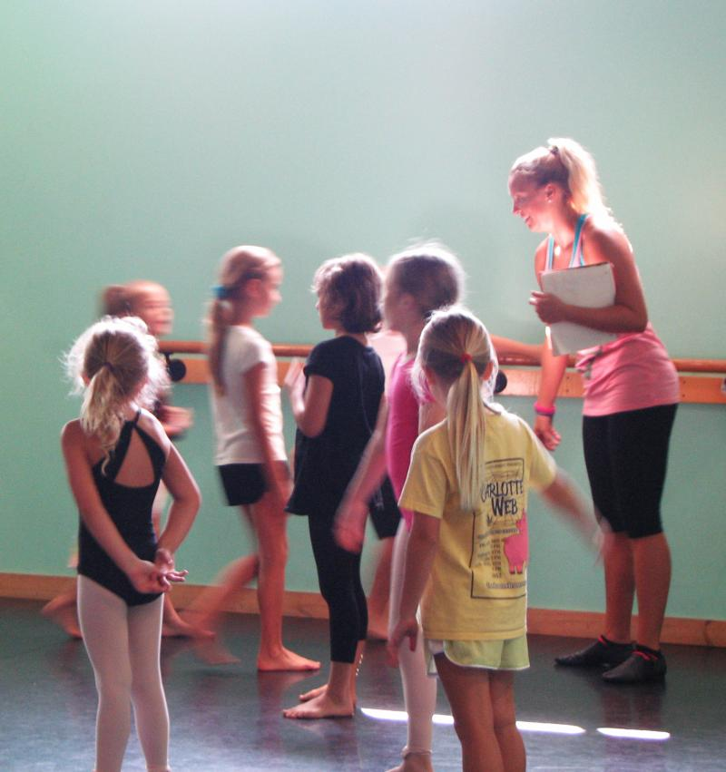 Tara Landis Lee is a teacher at The Dance Element in Wilmington NC
