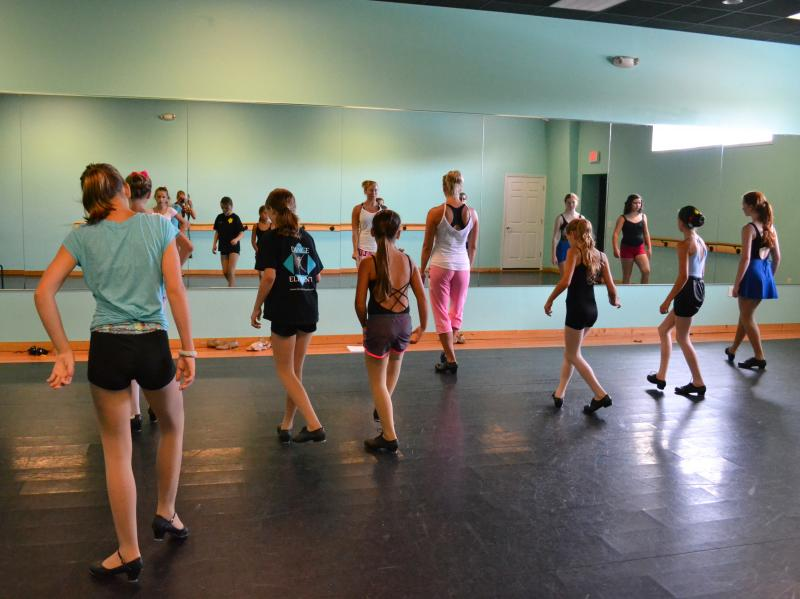 Tara Lee teaches Tap and Irish dance at The Dance Element studio in Wilmington N