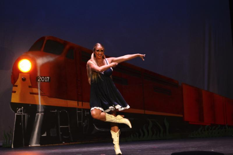 Tara Lee teaches Tap, Jazz, & Contemporary dance at The Dance Element studio