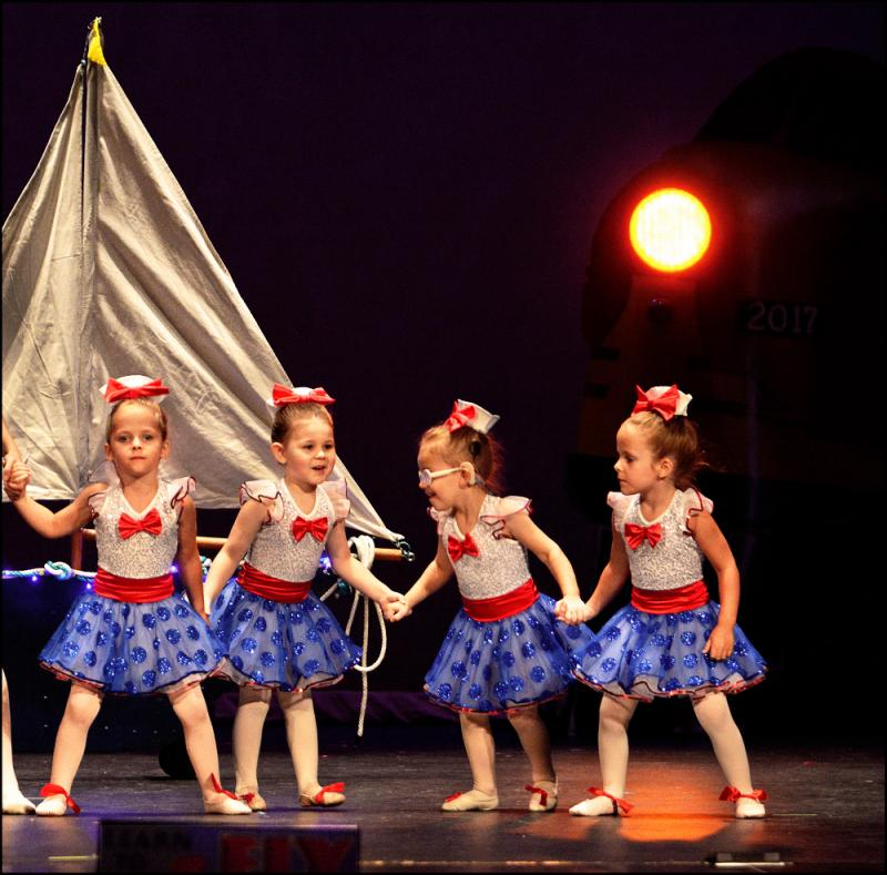 The Dance Element offers the Wilmington NC area's best preschool dance program.
