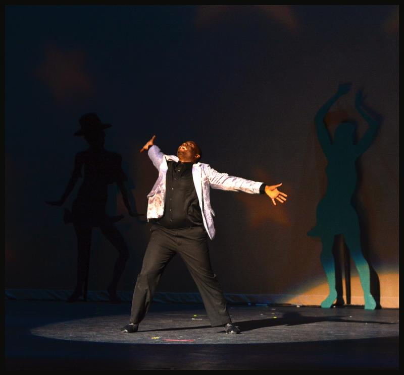 Manny Lloyd was featured in numerous works of original dance choreography