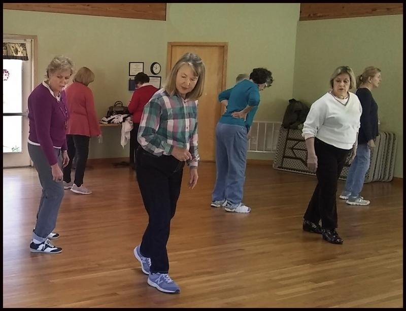 Adults & Seniors enjoy learning to Line Dance in Wilmington NC.
