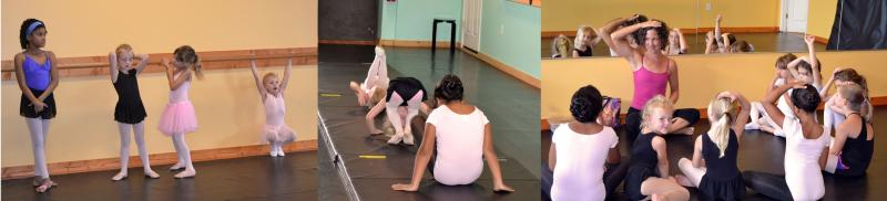 Susan Turner teaches children's Yoga classes at The Dance Element studio.