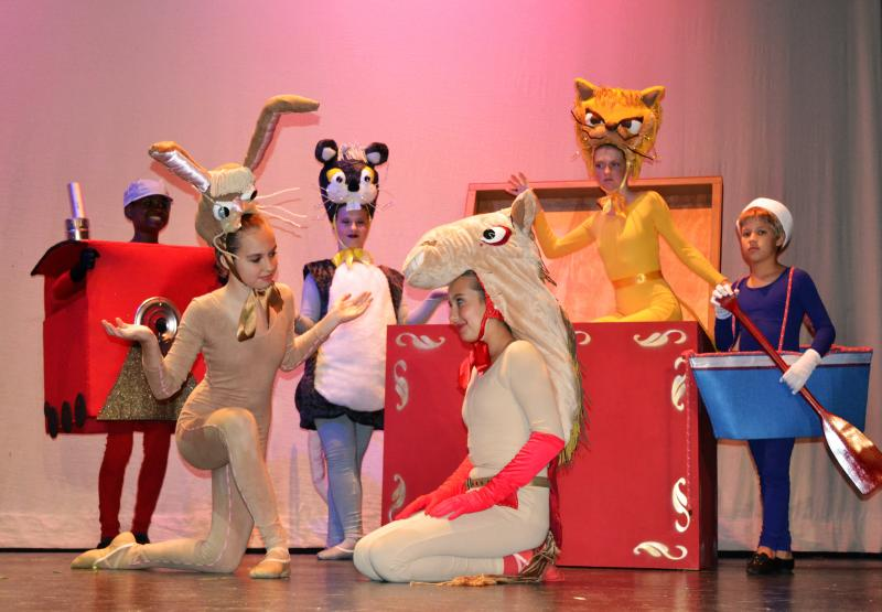 The Velveteen Rabbit was one of the best things ever performed in Wilmington NC