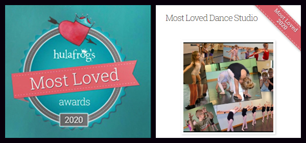 Voted Most Loved Dance Studio in Wilmington NC by Parents in 2020!