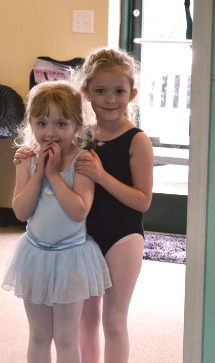 Wilmington NC ballet students dress in dance attire for every dance class.