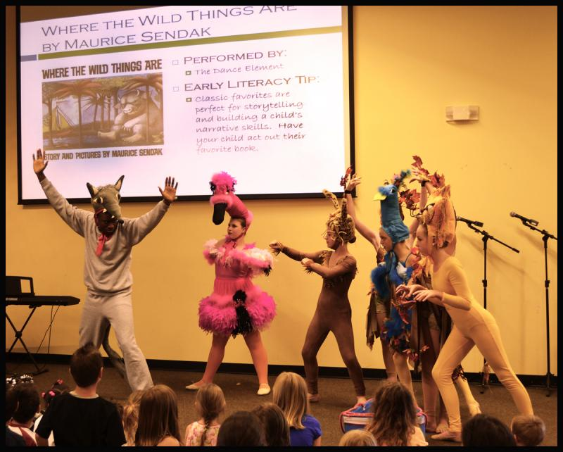 Manny Lloyd stars in a dance performance at the New Hanover County Library