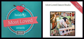 The Dance Element was voted Wilmington NC's most loved dance studio in 2020.