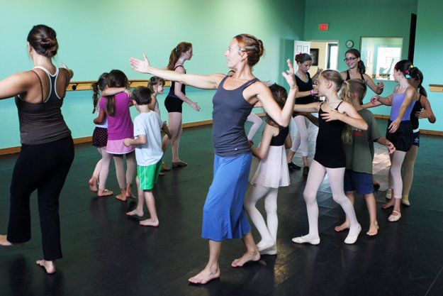 Wilma Magazine, Home School Dance Class, The Dance Element of Wilmington