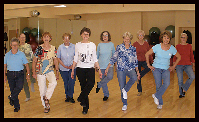 Wilmington Seniors gain exercise and improve health while learning to line dance